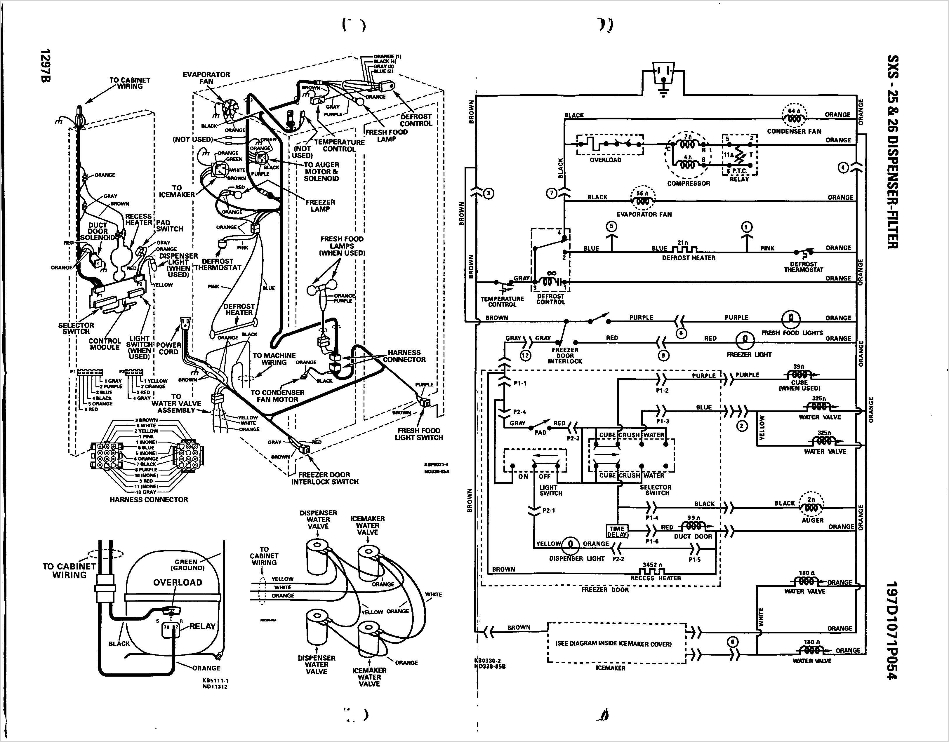 wiring diagram for ge profile stove ge refrigerator wiring schematic | free wiring diagram wiring diagram for ge refrigerator