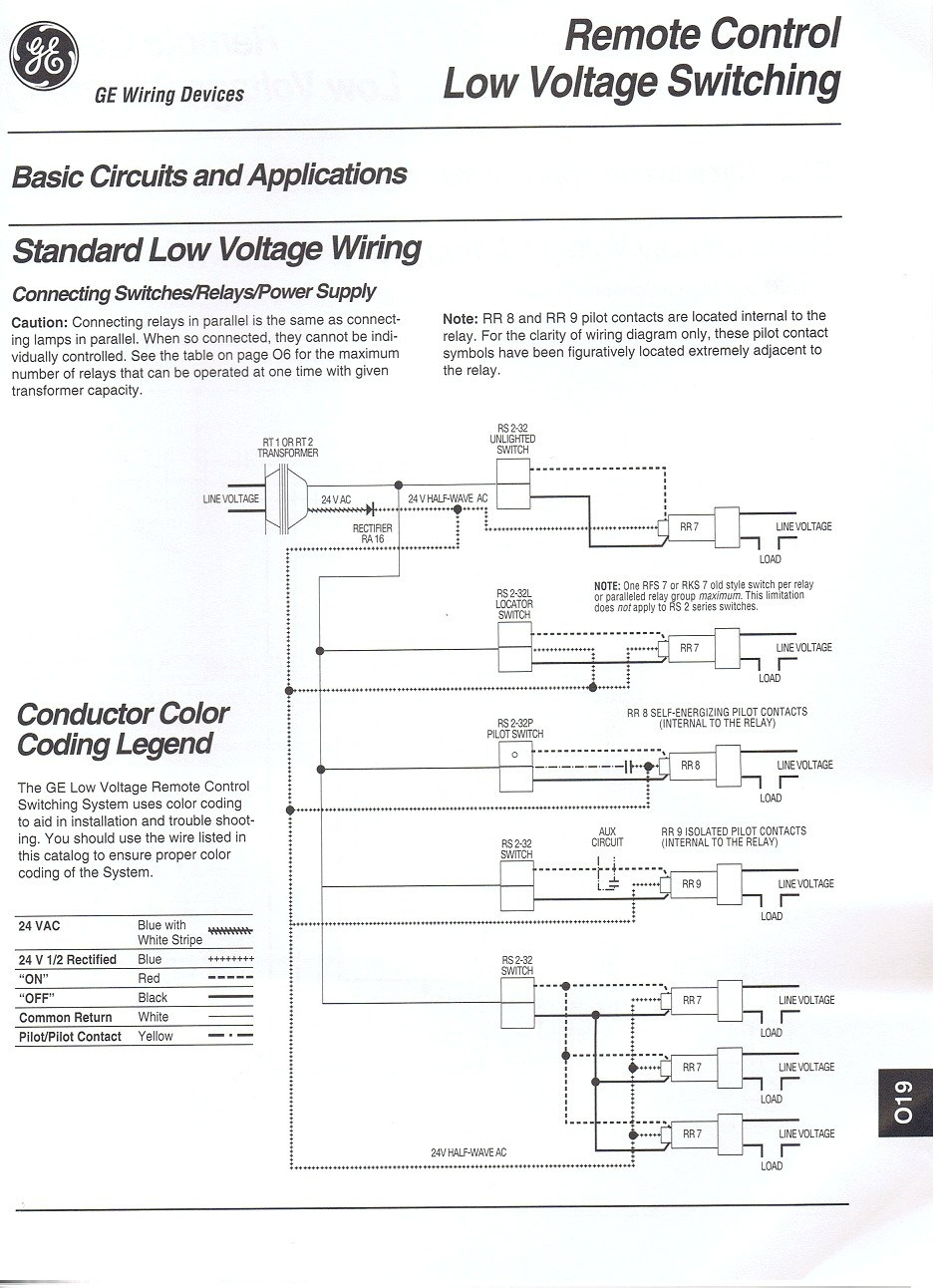 Ge Rr8 Relay Wiring Diagram