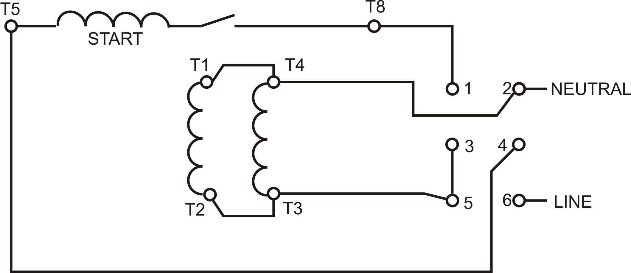 Wiring Diagram Single Phase Motor Wiring Diagrams Single Phase Motor