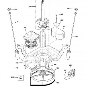 Ge Washer Motor Wiring Diagram - Wiring Diagram Washer Motor New Ge Model Wpre6150k2wt Residential Washers Genuine Parts 4b