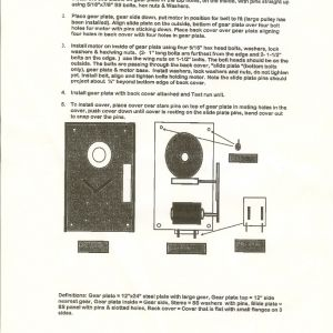 Gem Remote Wiring Diagram - Cover Installation Diagram · for Gem Remote 6t