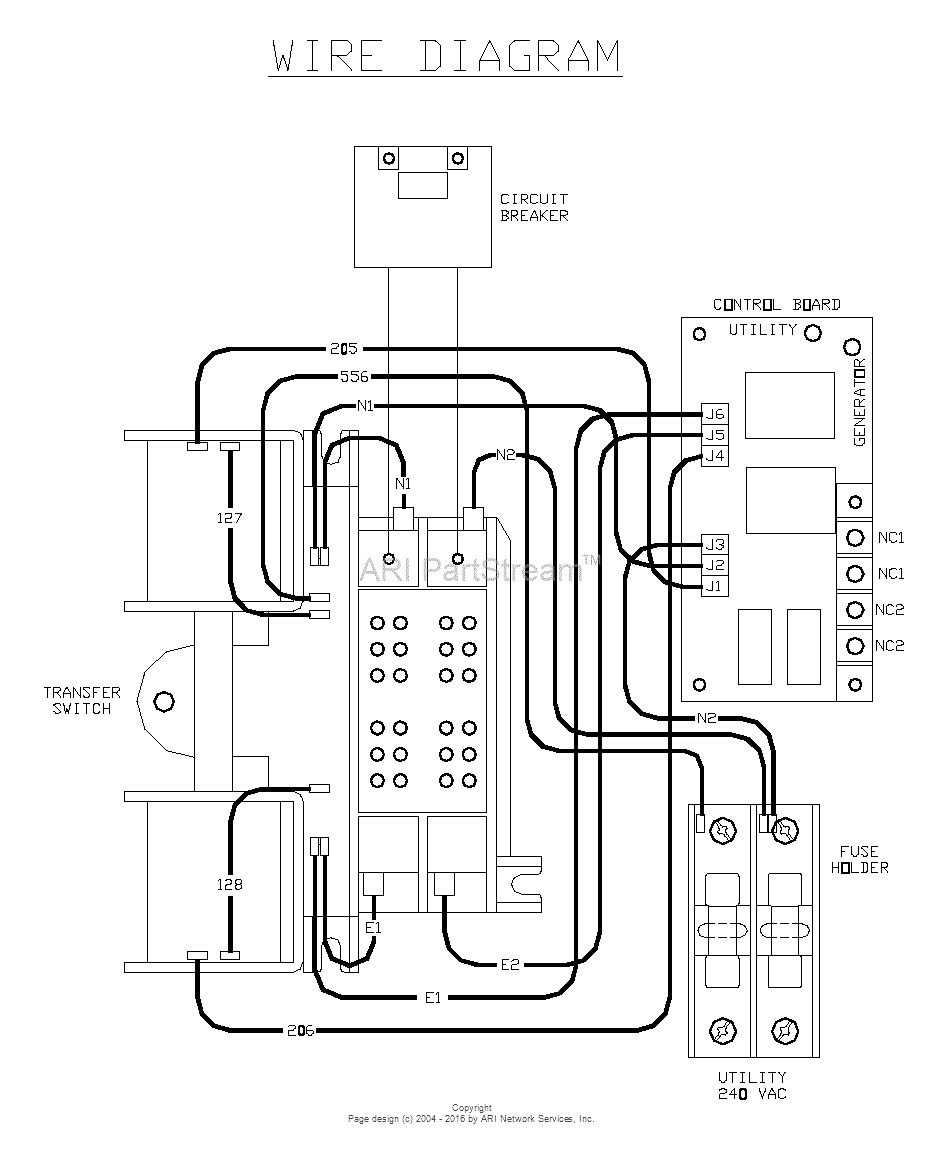 Generac 100 Amp Automatic Transfer Switch Wiring Diagram ...