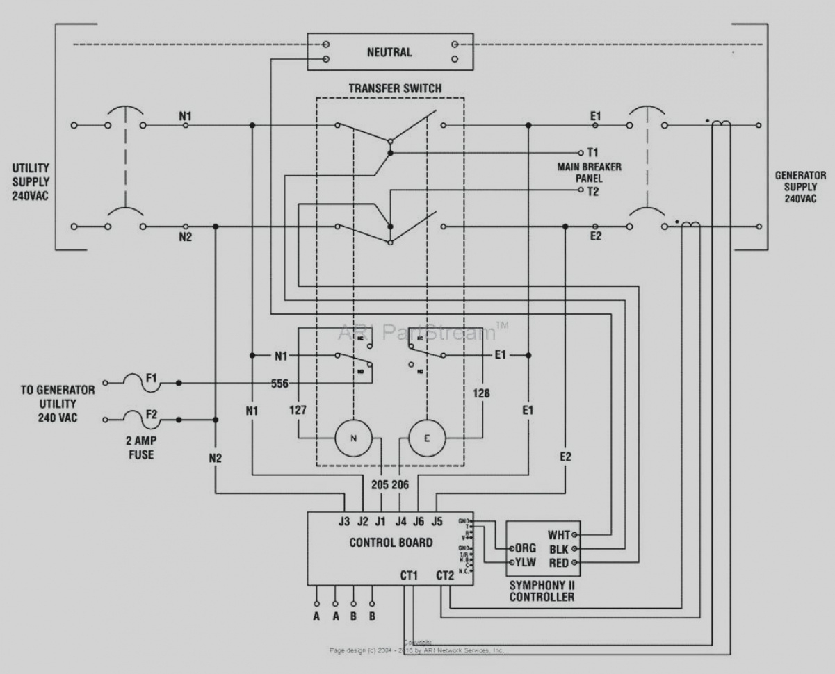 Generac 200 Amp Automatic Transfer Switch Wiring Diagram