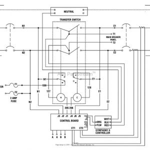 Generac 6333 Wiring Diagram - Generac Generator Transfer Switch Wiring Diagram Natebird Me Rh Natebird Me Generac 6334 Wiring Diagram Generac Wiring Diagram 16kw 19g