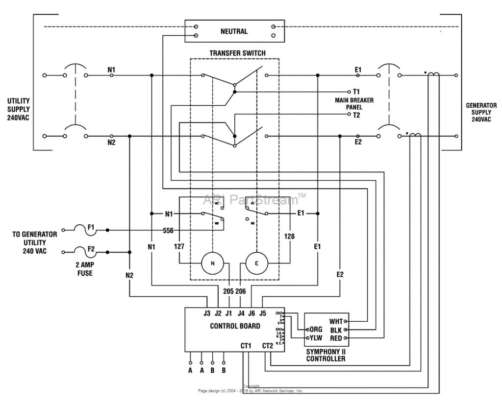 Generac 6333 Wiring Diagram