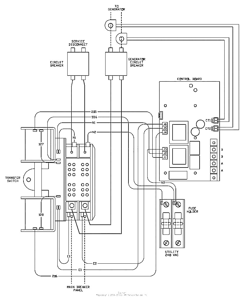 generac ats wiring diagram Collection-generac ats wiring diagram generac automatic transfer switch wiring diagram magnificent design of generac ats wiring diagram 8-m