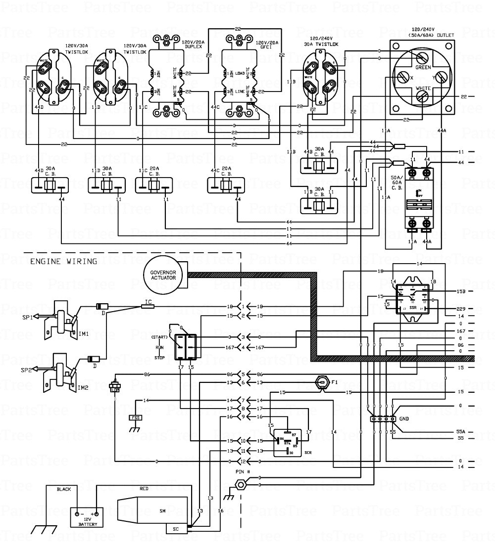 generac gp17500e wiring diagram | free wiring diagram farmall tractor wiring diagram model a generator wiring schematic model a