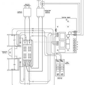 Generac whole House Transfer Switch Wiring Diagram - Generac ats Wiring Illustration Wiring Diagram • 6g