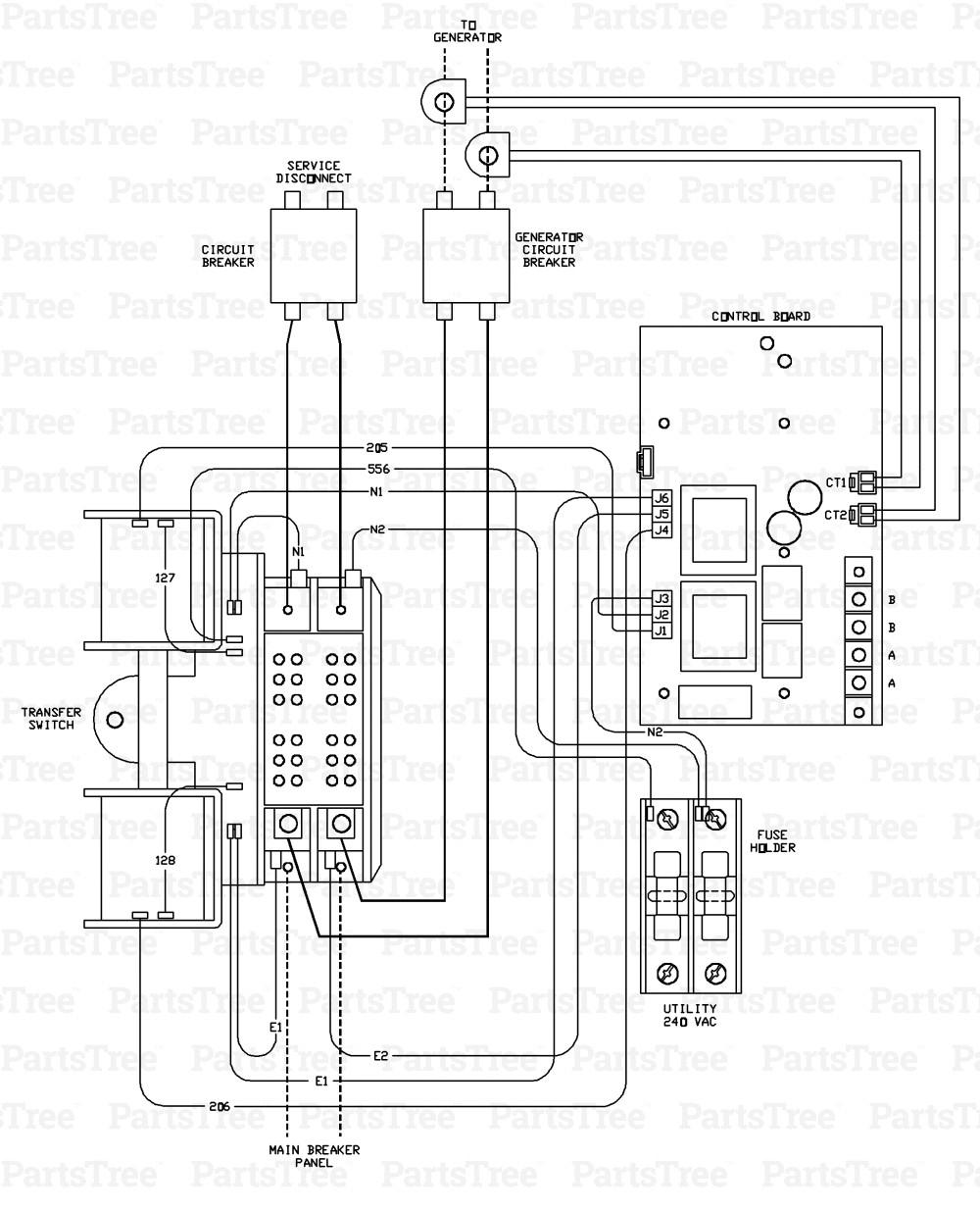 Generator Automatic Transfer Switch Wiring Diagram