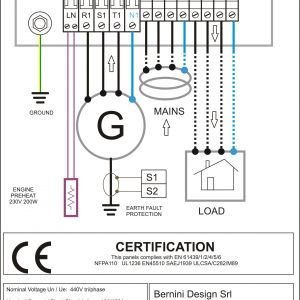 Generator Control Panel Wiring Diagram - Wiring Diagram Ac Generator New Wiring Diagram Ac New Sel Generator Control Panel Wiring Diagram 17p