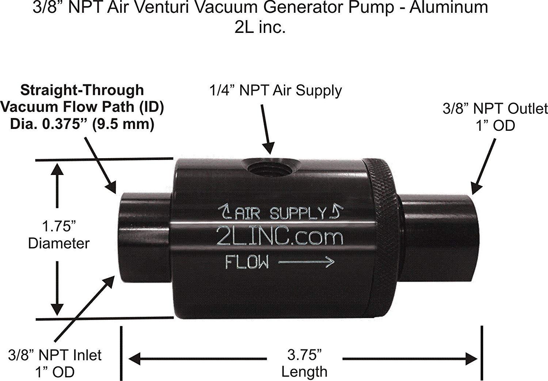 "generator inlet box wiring diagram Collection-generator inlet box wiring diagram Download 3 8"" NPT Air Venturi Vacuum Generator Pump DOWNLOAD Wiring Diagram Pics Detail Name generator inlet box 18-h"