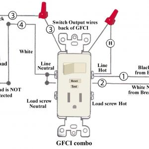 Gfci Outlet with Switch Wiring Diagram - Gfci Outlet with Switch Wiring Diagram Download Wiring A Light Switch and Outlet Diagram How 12b