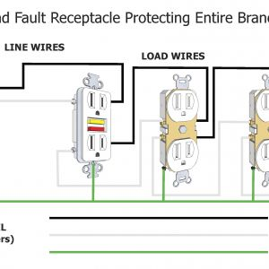wiring a light switch and outlet and a light wiring a light switch and gfci schematic free download