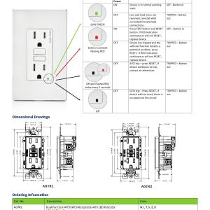 Gfci Receptacle Wiring Diagram - Best Leviton Gfci Wiring Diagram Irelandnews Co Gfci Outlet 4j