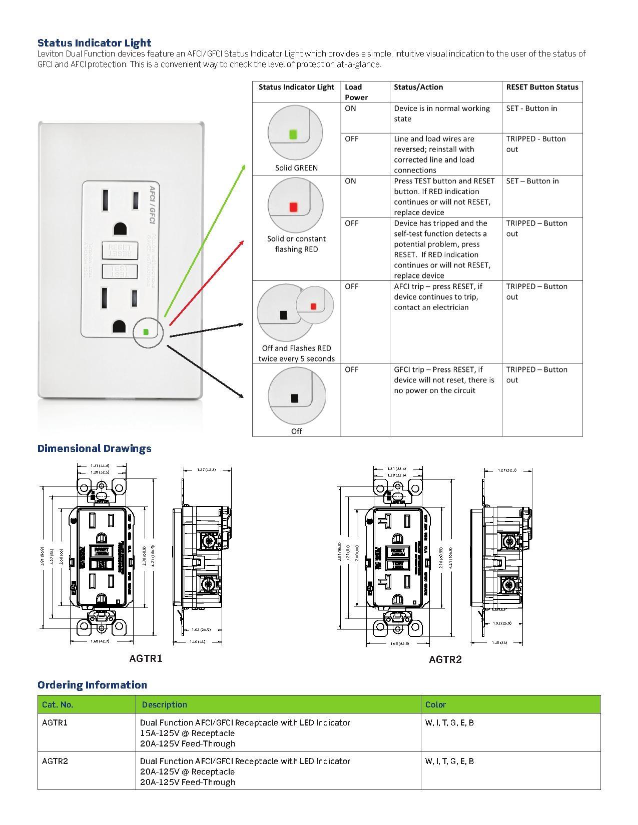 Gfci Receptacle Wiring Diagram
