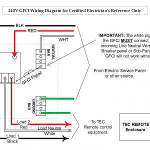 Gfci Receptacle Wiring Diagram - Gfci Receptacle Wiring Diagram Gfci Wiring Diagram Feed Through Method Can 2 Receptacles Be In 20h