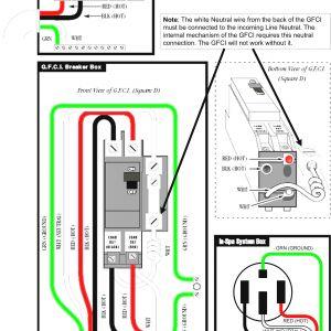 Gfci Wiring Diagram Feed Through Method - Free Wiring Diagram Unique Gfci Breaker Wiring Diagram Wiring Wiring Of Wiring Diagram Gfci 16g