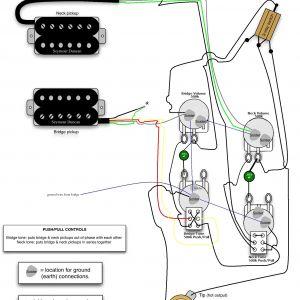 Gibson Firebird Wiring Diagram - Push Pull Guitar Wiring Harness Wire Center U2022 Rh 144 202 34 195 10f