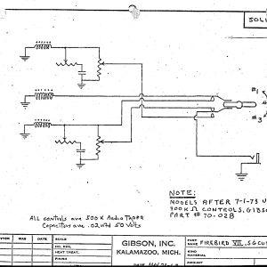 Gibson Firebird Wiring Diagram - Wiring Diagram for Gibson Sg Save Schematics 19g