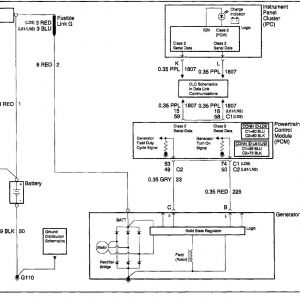 Gm Alternator Wiring Schematic - Saturn Alternator Wiring Diagram 2019 Saturn Alternator Wiring Diagram New Gm 2 Wire Alternator Wiring 17j