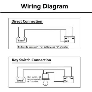 Golf Cart Battery Meter Wiring Diagram - Wiring A Battery Guage Basic Guide Wiring Diagram • 19a