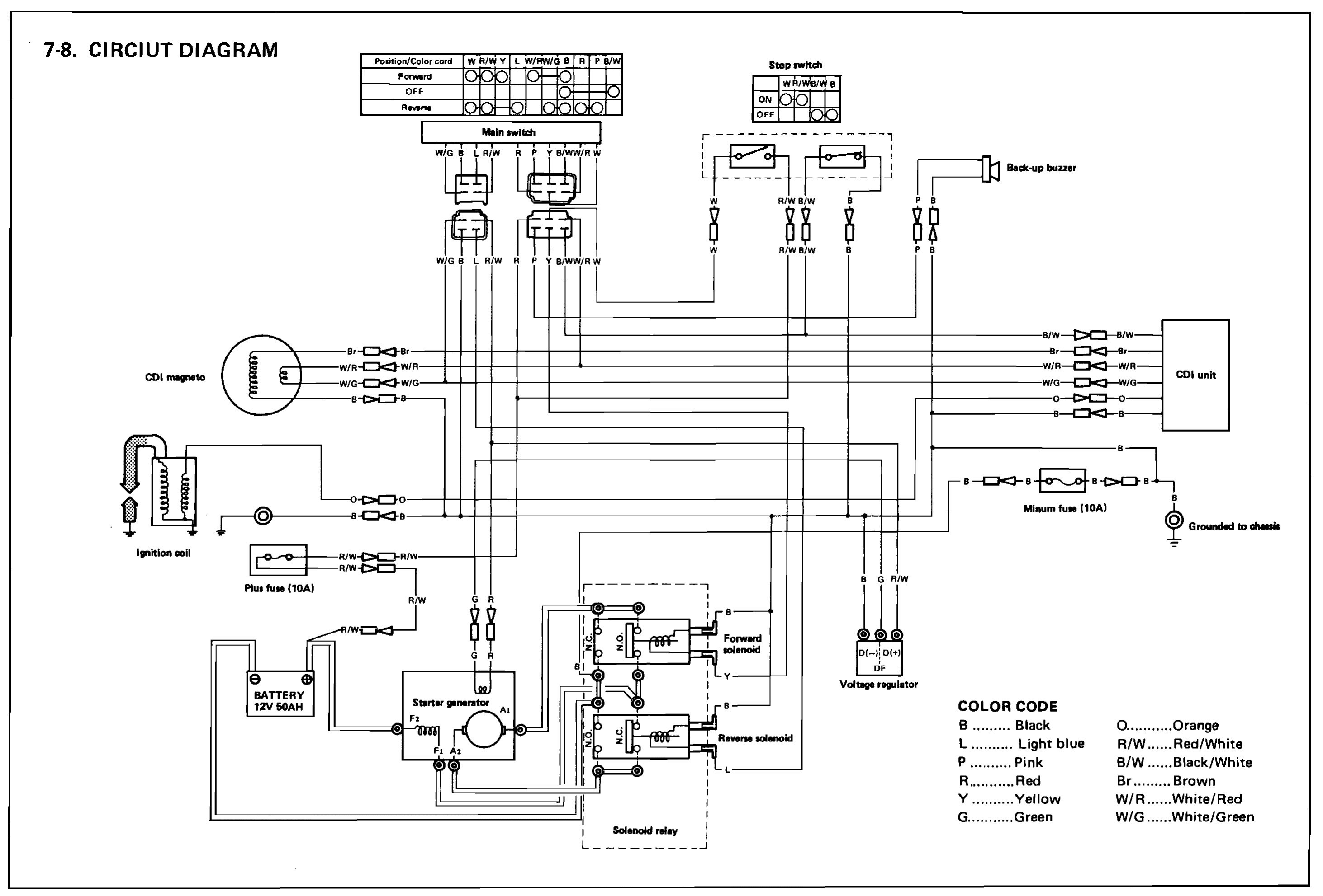 Golf Cart Wiring Diagram Yamaha Jn 4