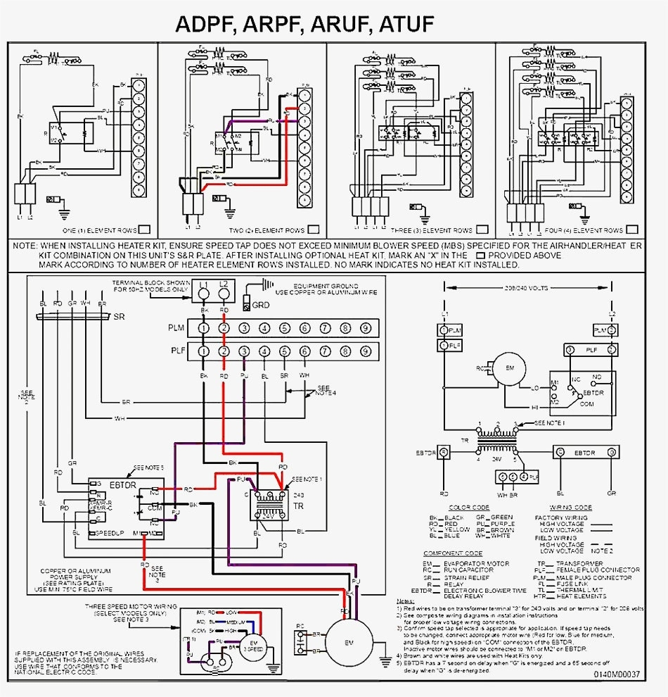 Goodman Aruf    Air       Handler       Wiring       Diagram      Free    Wiring       Diagram