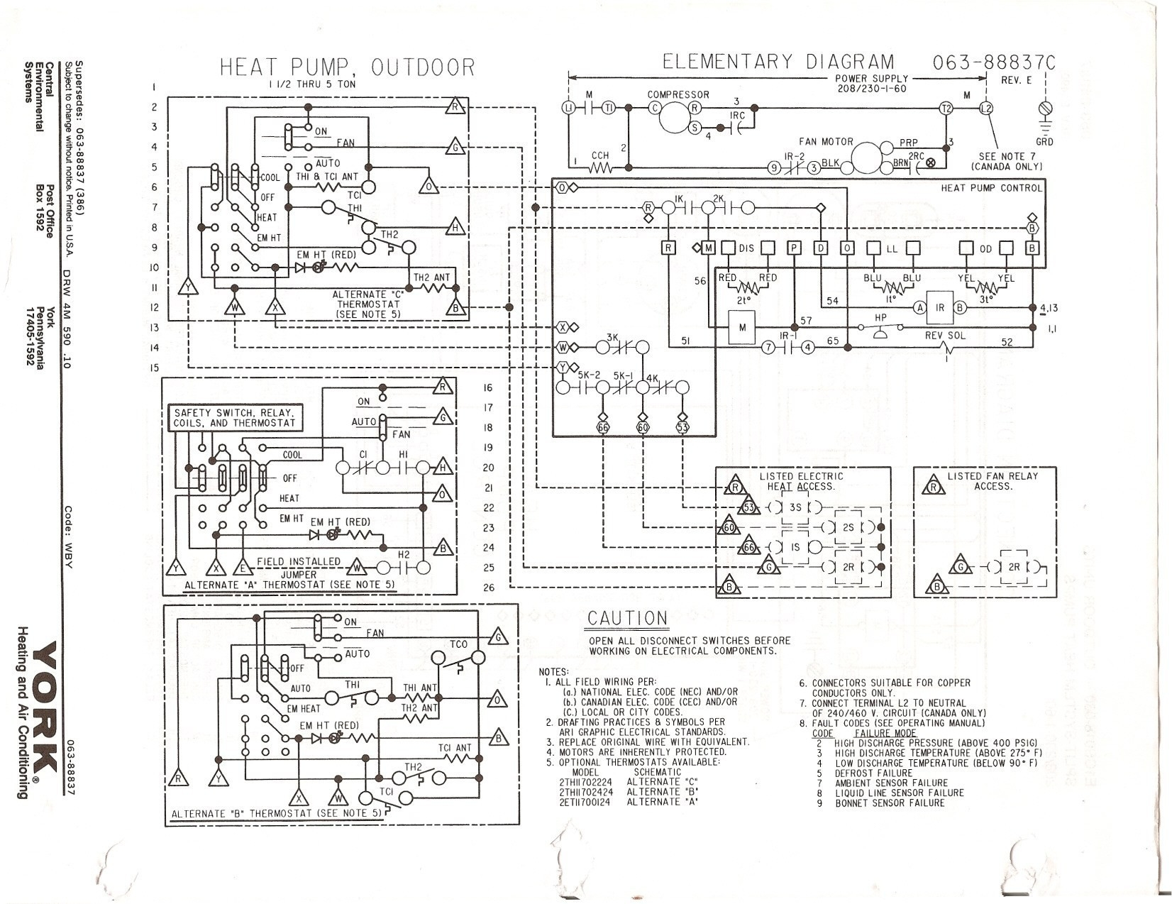 goodman defrost board wiring diagram Collection-york hvac wiring schematics wire center u2022 rh linxglobal co york heating and air conditioning wiring 6-q