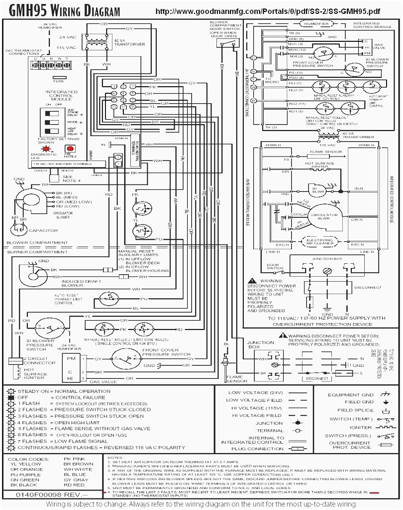 goodman furnace wiring diagram Collection-Goodman Furnace Wiring Diagram Webtor Me In At Goodman Furnace Wiring Diagram 14-k