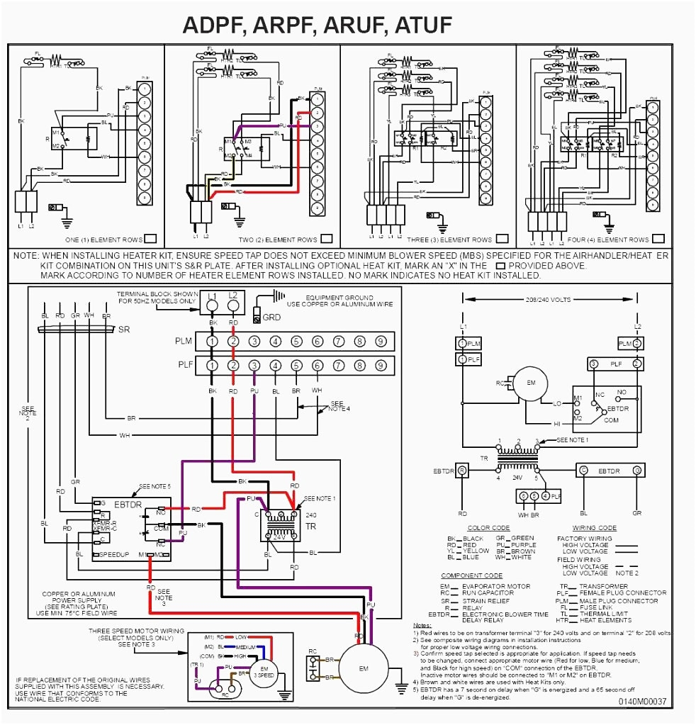 goodman heat pump air handler wiring diagram | free wiring ... split ac compressor wiring diagram #9