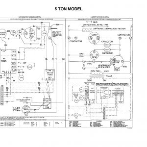 Goodman Heat Pump Package Unit Wiring Diagram - Goodman Package Unit Wiring Diagram 14j