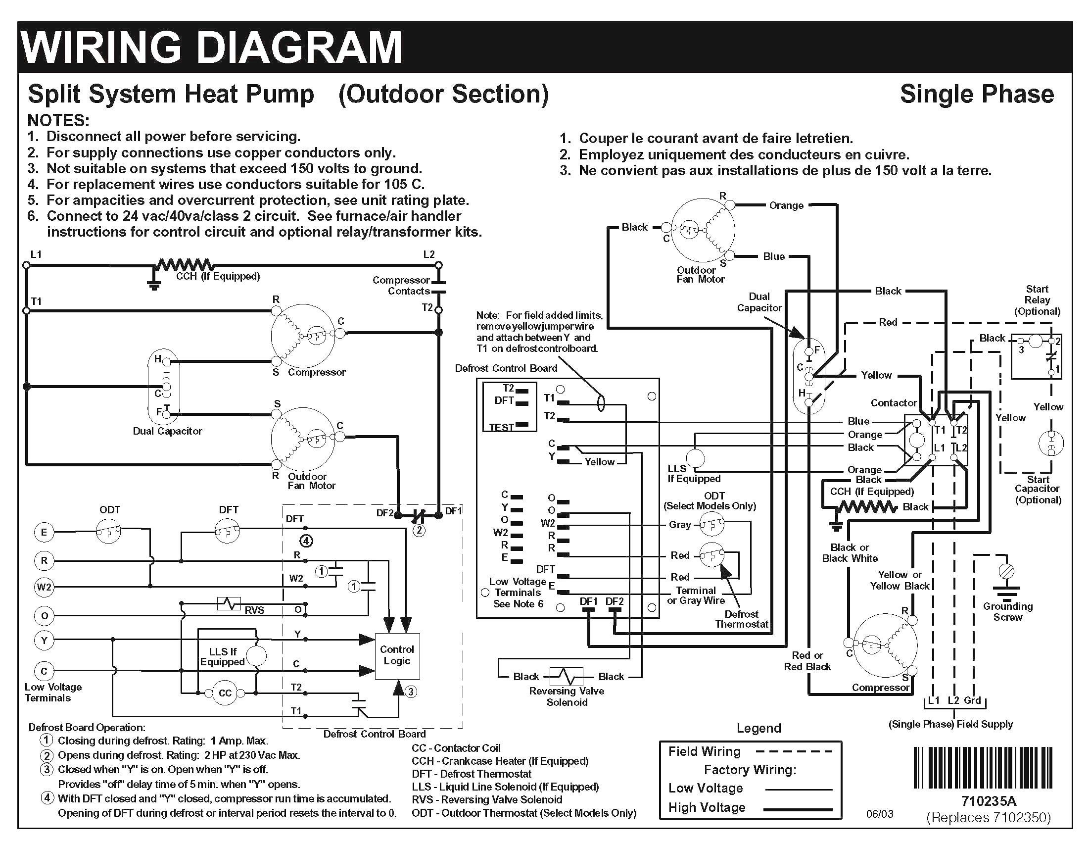 Goodman Heat Pump Wiring Schematic