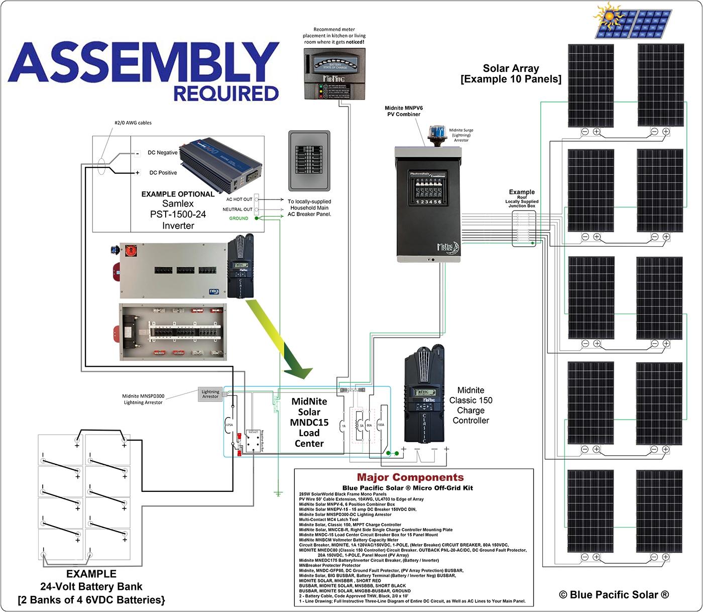 Grid Tie solar Wiring Diagram | Free Wiring Diagram