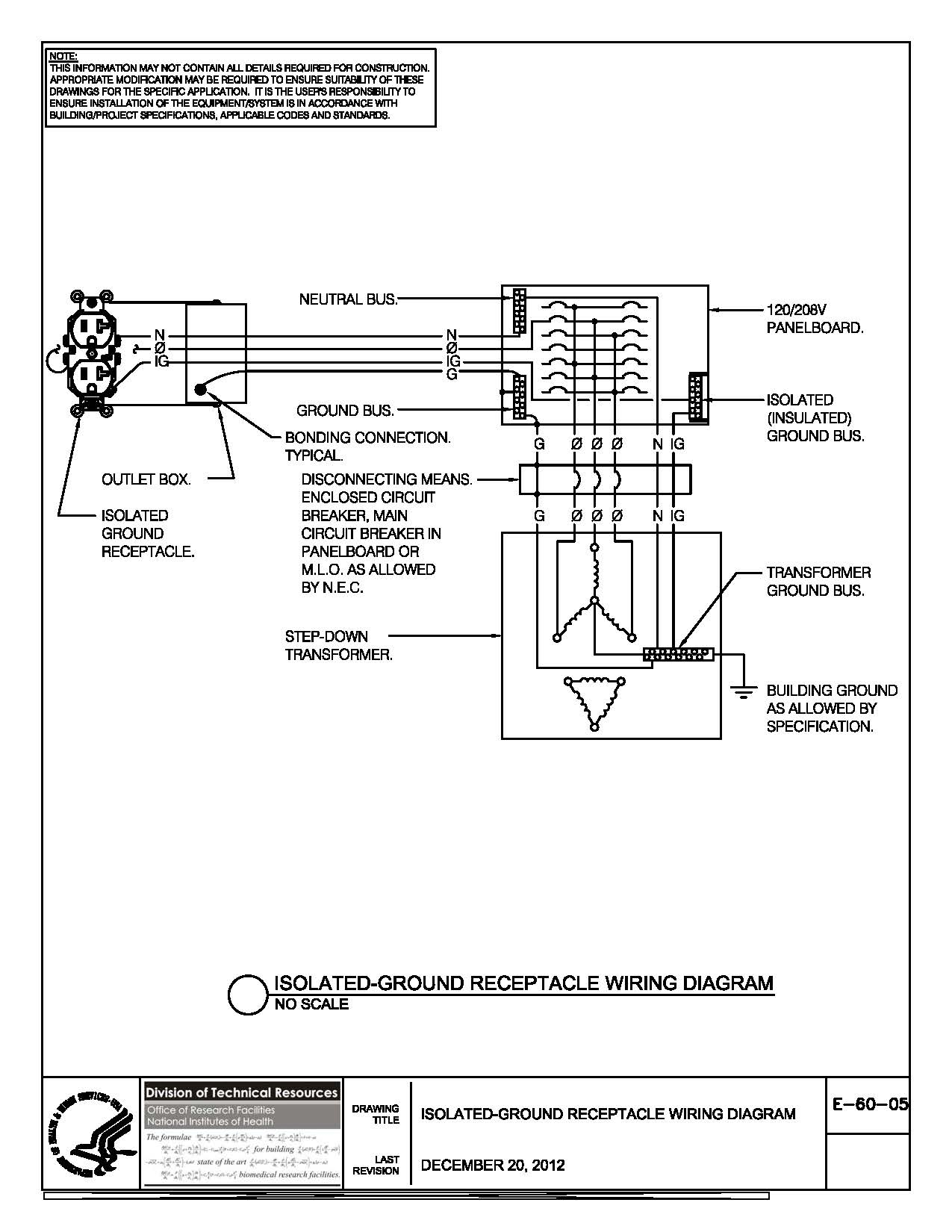 Ground Fault Receptacle Wiring Diagram