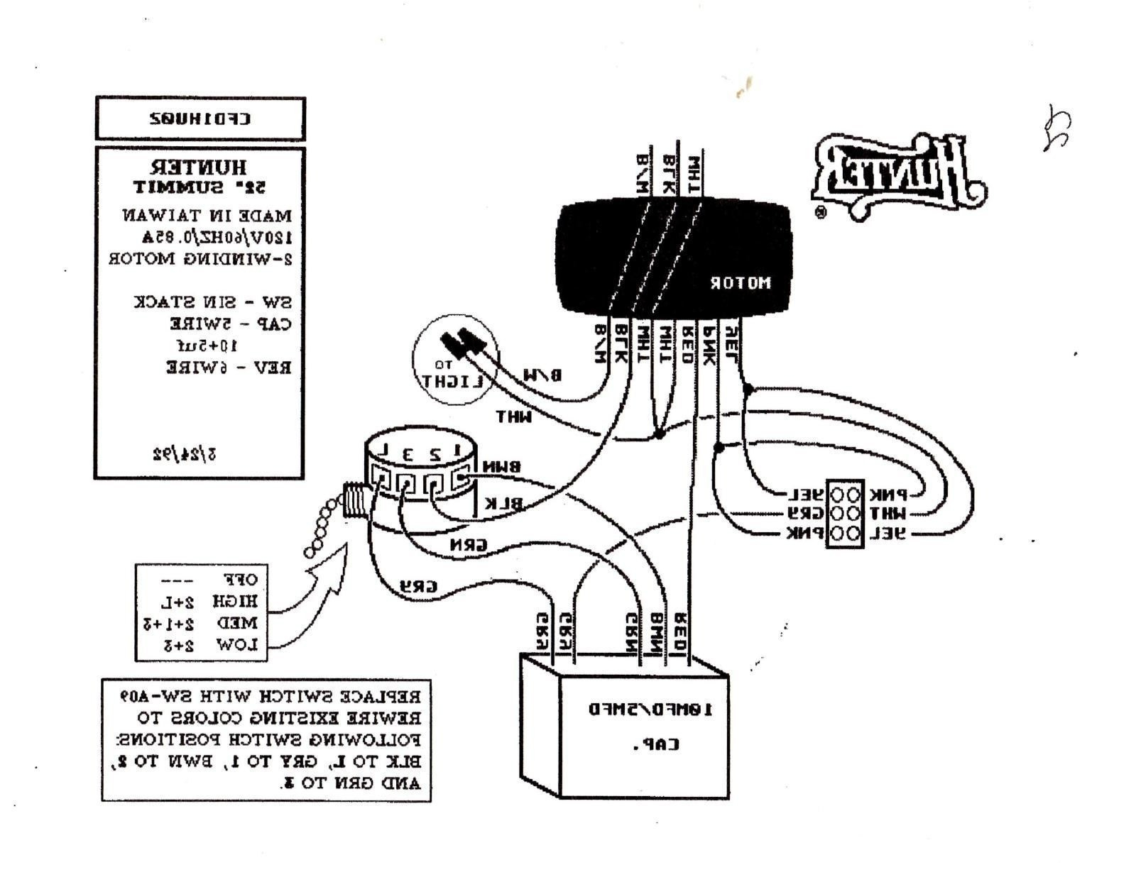 hampton fan wiring schematic hampton bay ceiling fan wiring schematic diagram