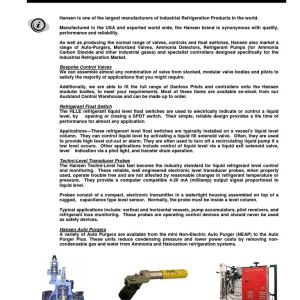 Hansen Auto Purger Plus Wiring Schematic - 11p