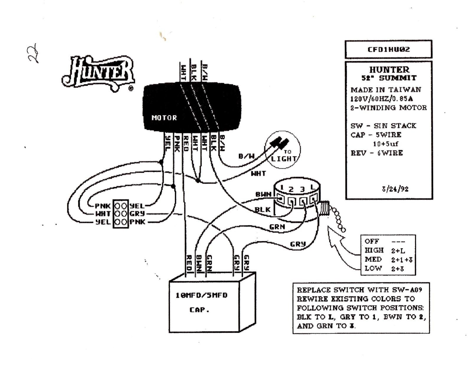 harbor breeze ceiling fan wiring schematic