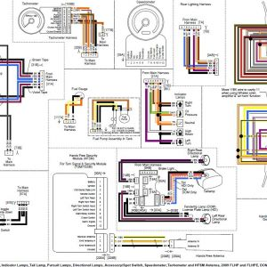 Harley Davidson Radio Wiring Diagram | Free Wiring Diagram on