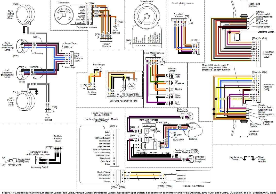 Harley Davidson Radio Wiring Diagram Free Engine Diagrams Tail Light Collection 2011 05 29