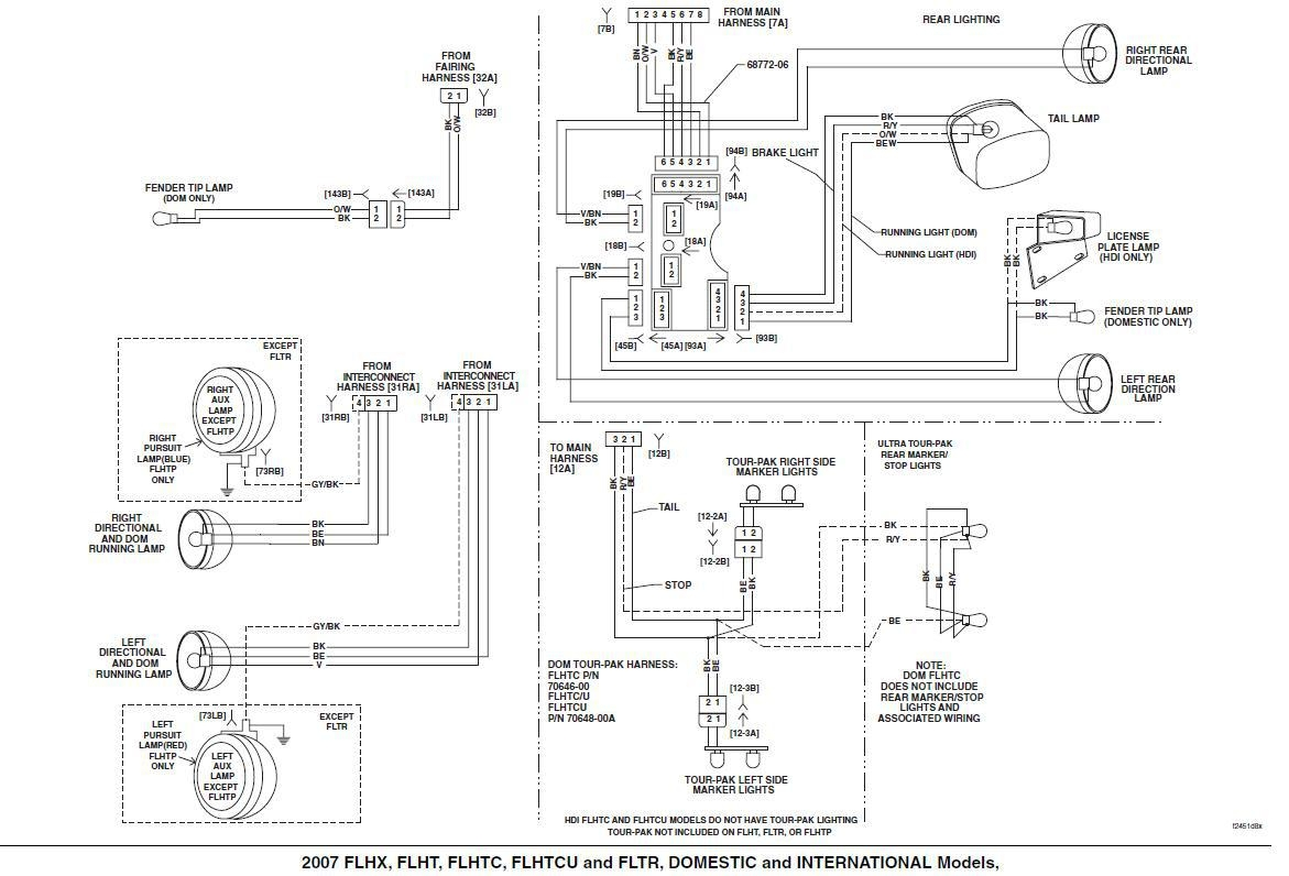Harley Radio Wiring Harness
