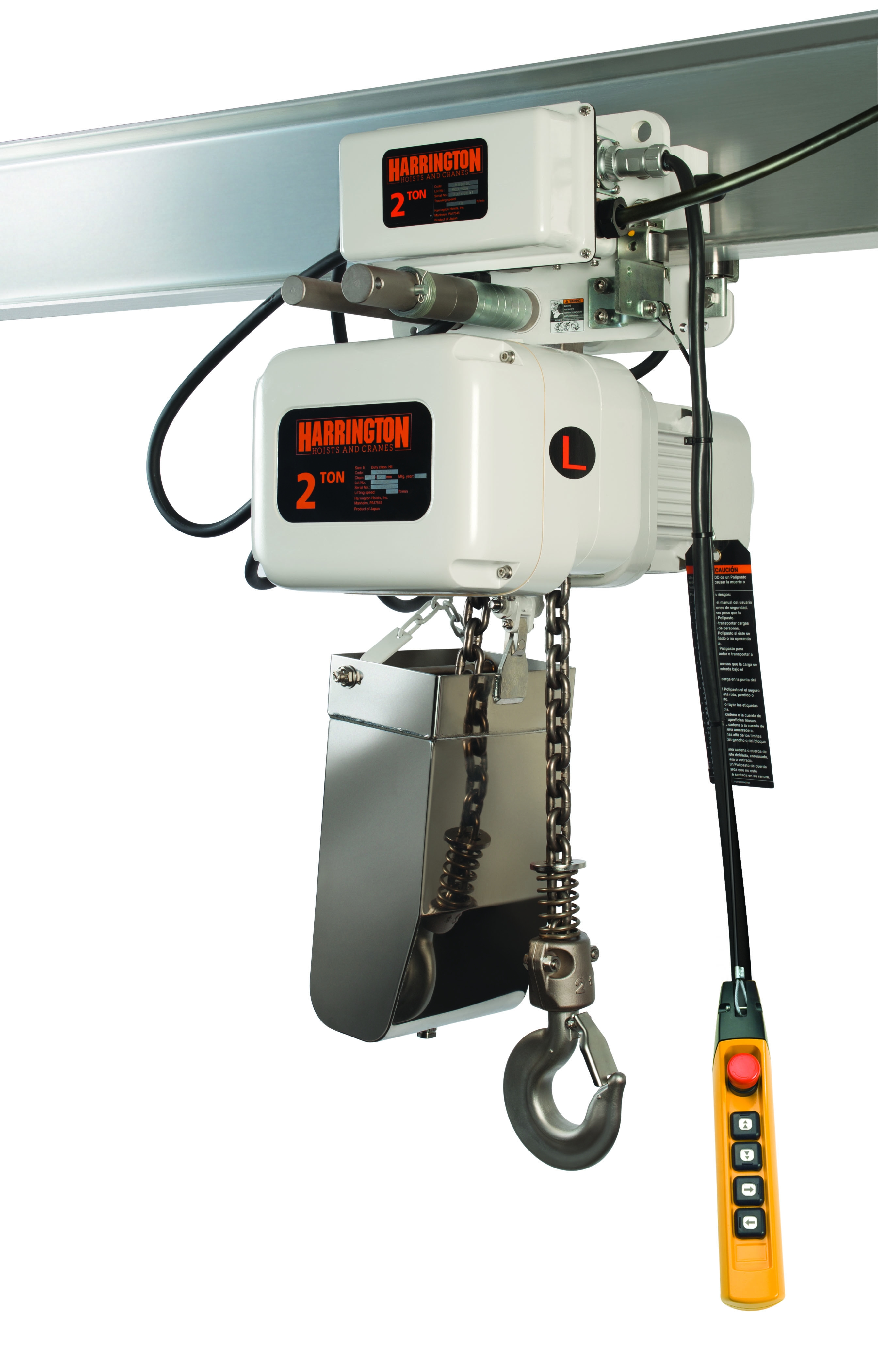 Harrington Hoist Wiring Diagram