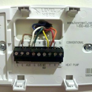 Heat Pump thermostat Wiring Diagram Honeywell - Honeywell Hvac thermostat Wiring Diagram Refrence Wiring Diagram for Rh Kobecityinfo Honeywell Rth2300 Wiring Honeywell Pro 3000 Th3210d1004 7d