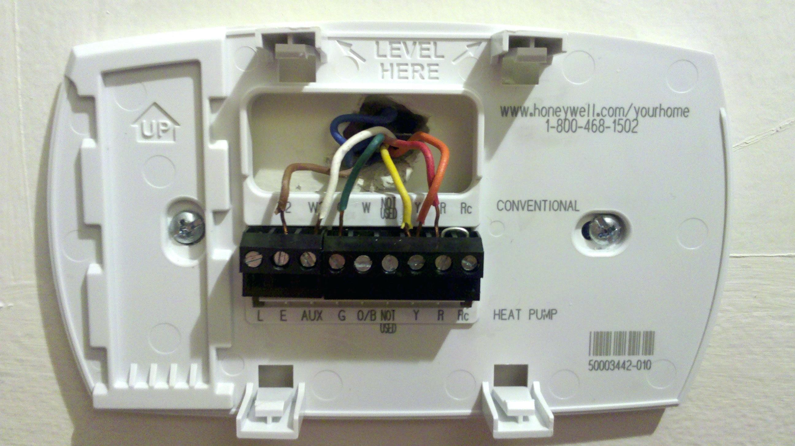 heat pump thermostat wiring diagram honeywell | free ... honeywell rth9580wf thermostat wiring diagram #10