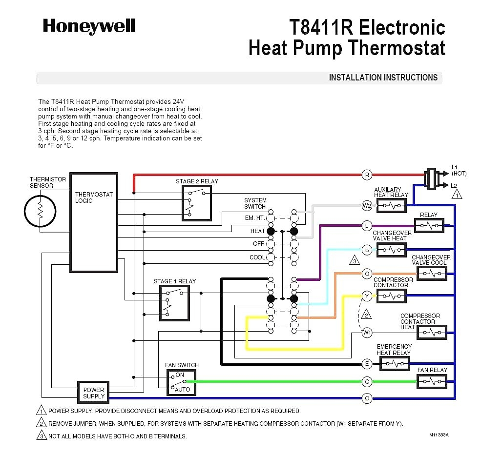 Wiring Diagram For Heat Pump System