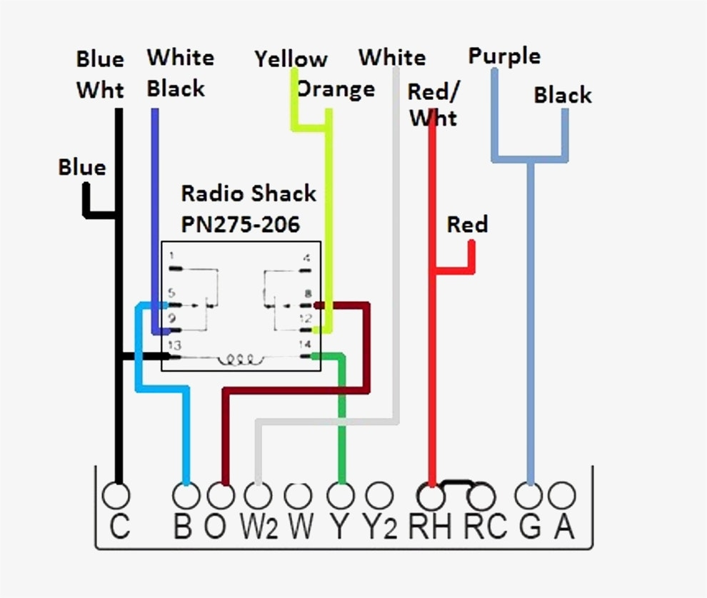 two wire thermostat wiring diagram 7 wire thermostat wiring diagram heating and cooling thermostat wiring diagram | free ...