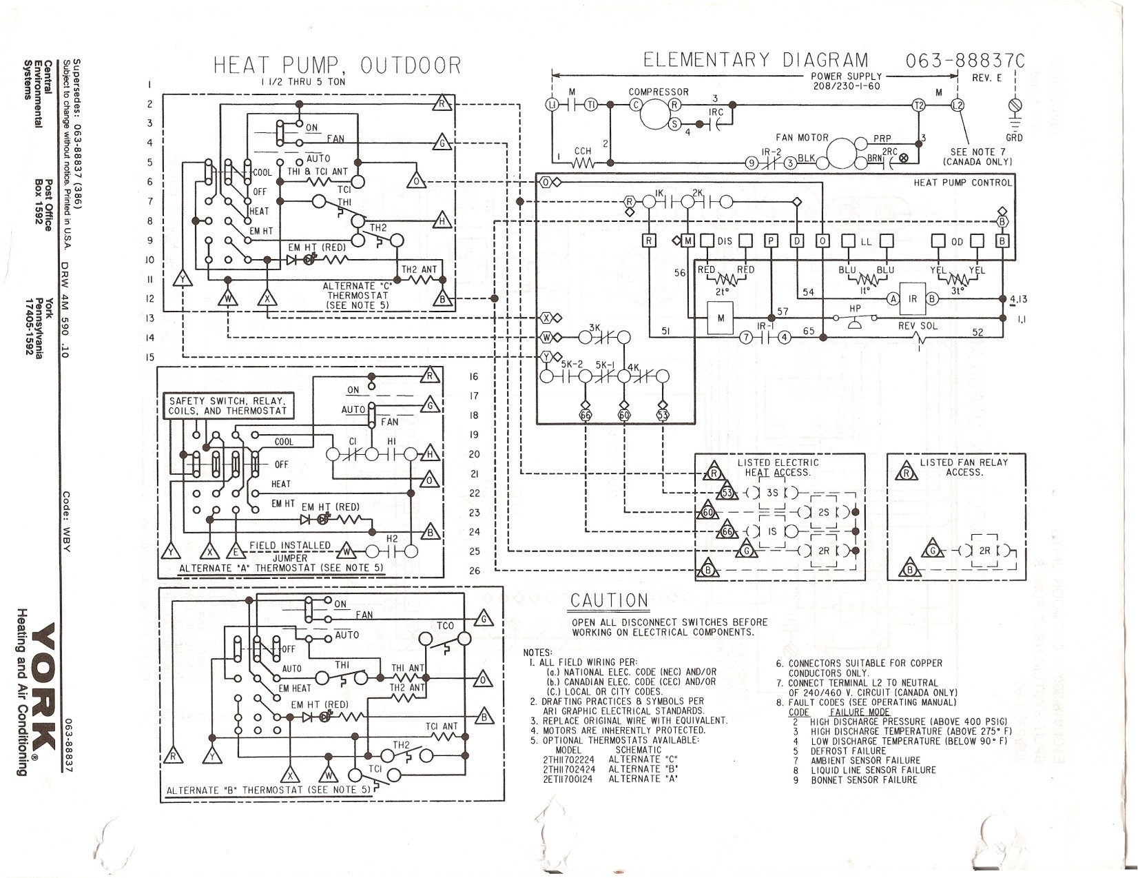 Heil Heat Pump Wiring Diagram