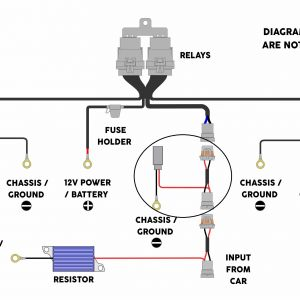 Hid Wiring Diagram with Relay - Wiring Diagram for Xenon Lights 2018 Wiring Diagram Hid Lights Relay Inspirationa Hid Wiring Diagram 2l