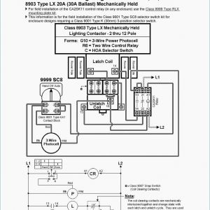 Hk42fz011 Wiring Diagram - Square D Lighting Contactor Wiring Diagram 8903 10a
