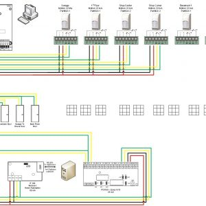 Home Security System Wiring Diagram | Free Wiring Diagram on