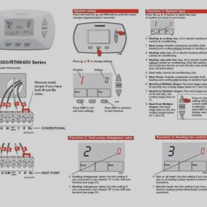 Home thermostat Wiring Diagram - Inspirational Honeywell thermostat Wiring Diagram for Rth 3 4 5 Wire Noticeable Instructions 3p